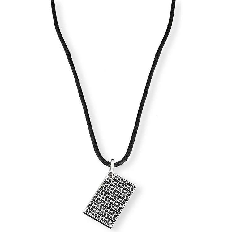 collier homme bijoux Morellato Black & White SAB01