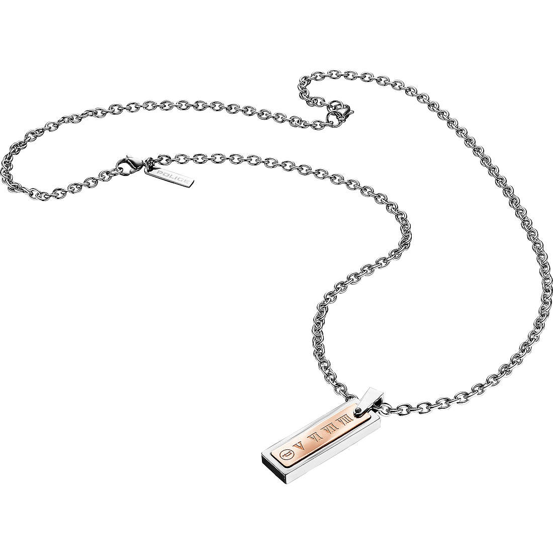 collier homme bijoux Police Colosseum S14AEE01P