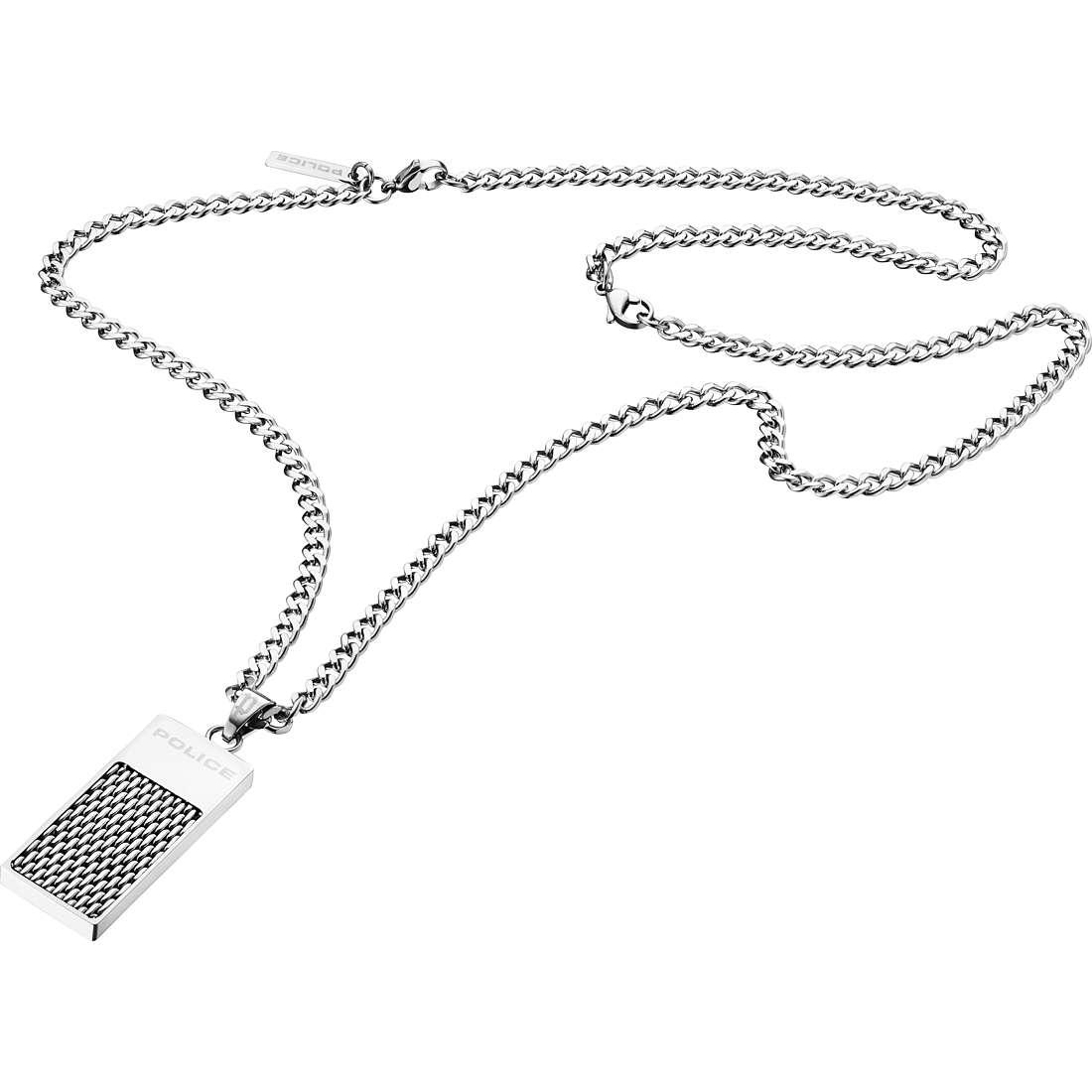collier homme bijoux Police Defense S14AFG03P