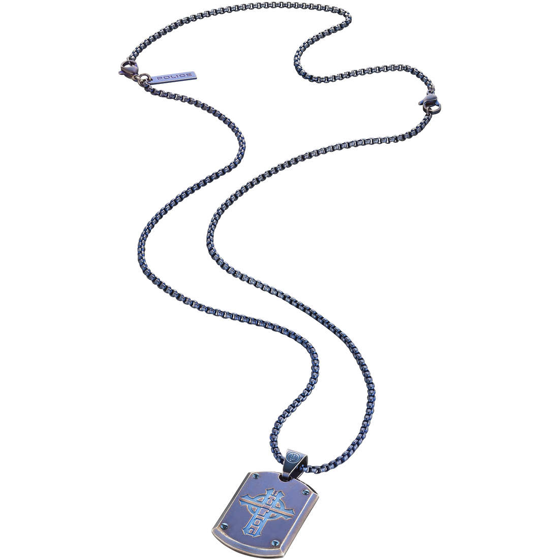 collier homme bijoux Police Prowler S14AFY01P