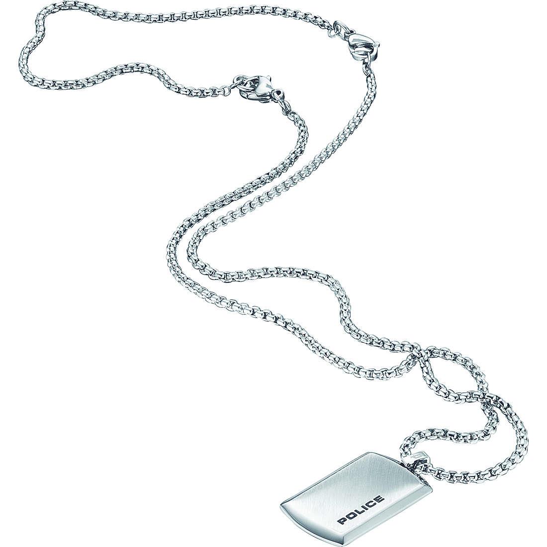 collier homme bijoux Police Purity S14YK01P