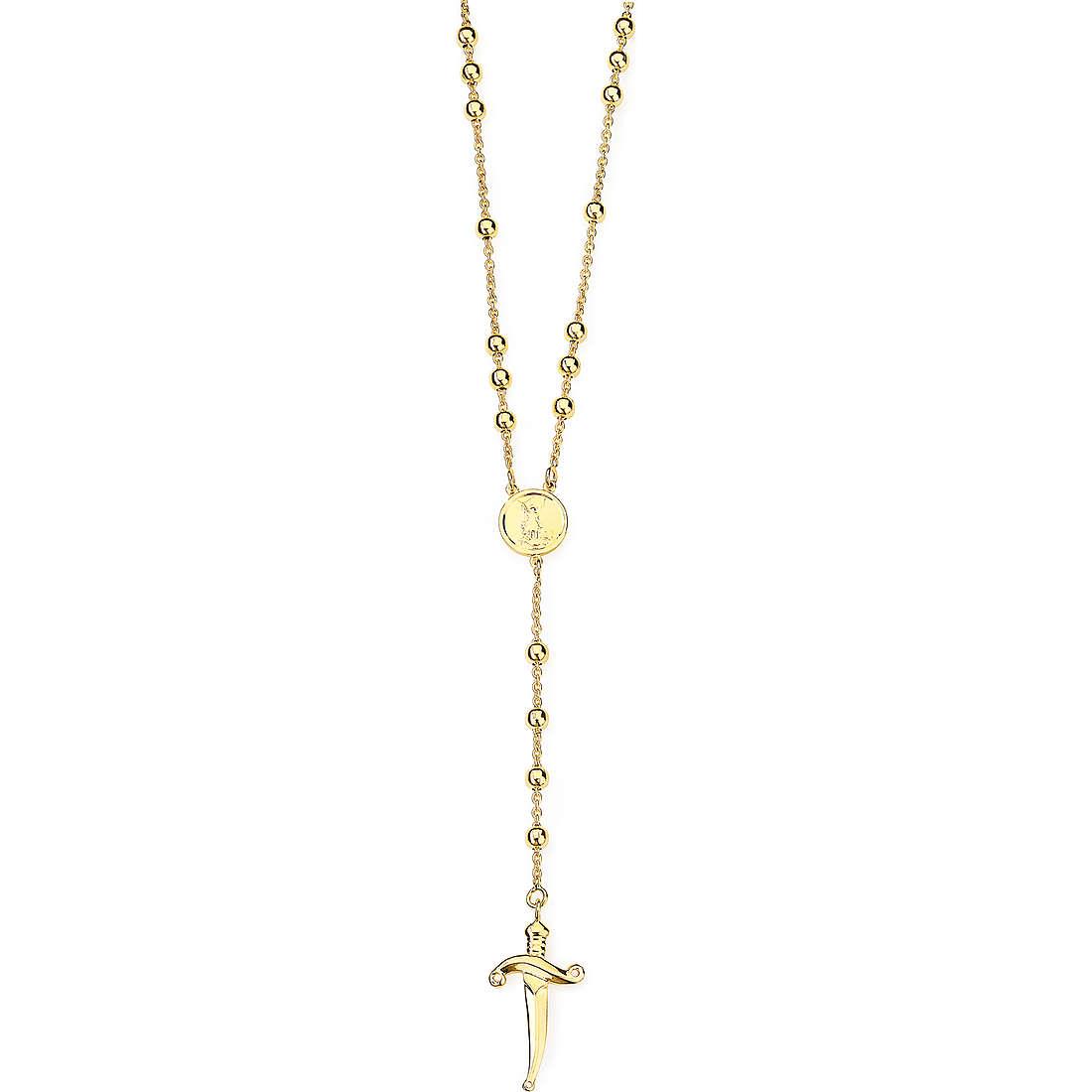 collier unisex bijoux Amen San Michele SM01G