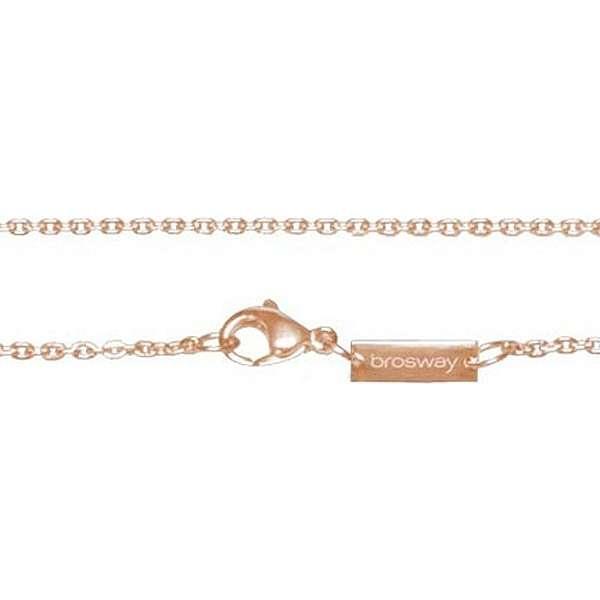 collier unisex bijoux Brosway Tres Jolie BCT12R