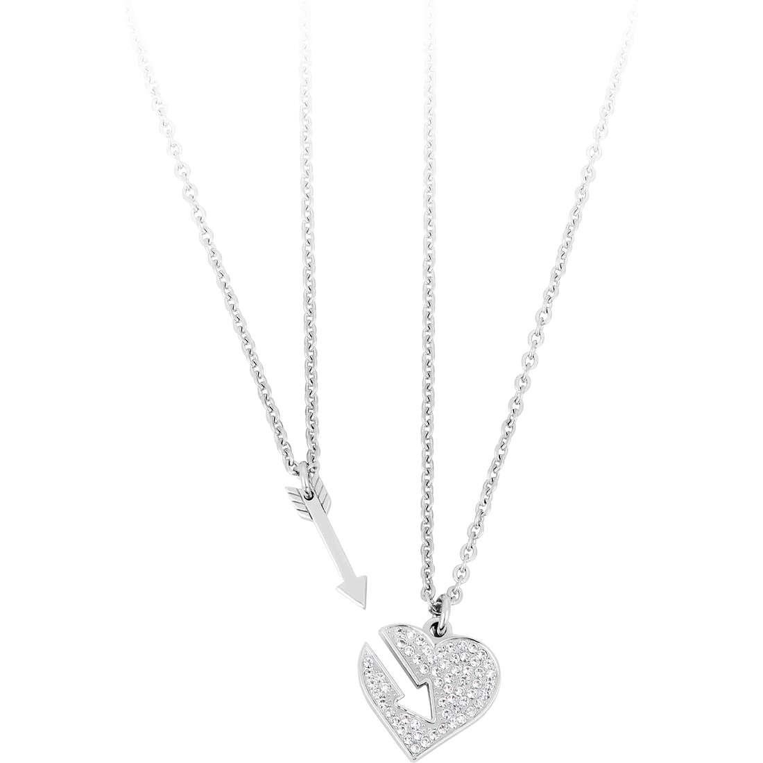 collier unisex bijoux Sagapò BE-TWO SBT04