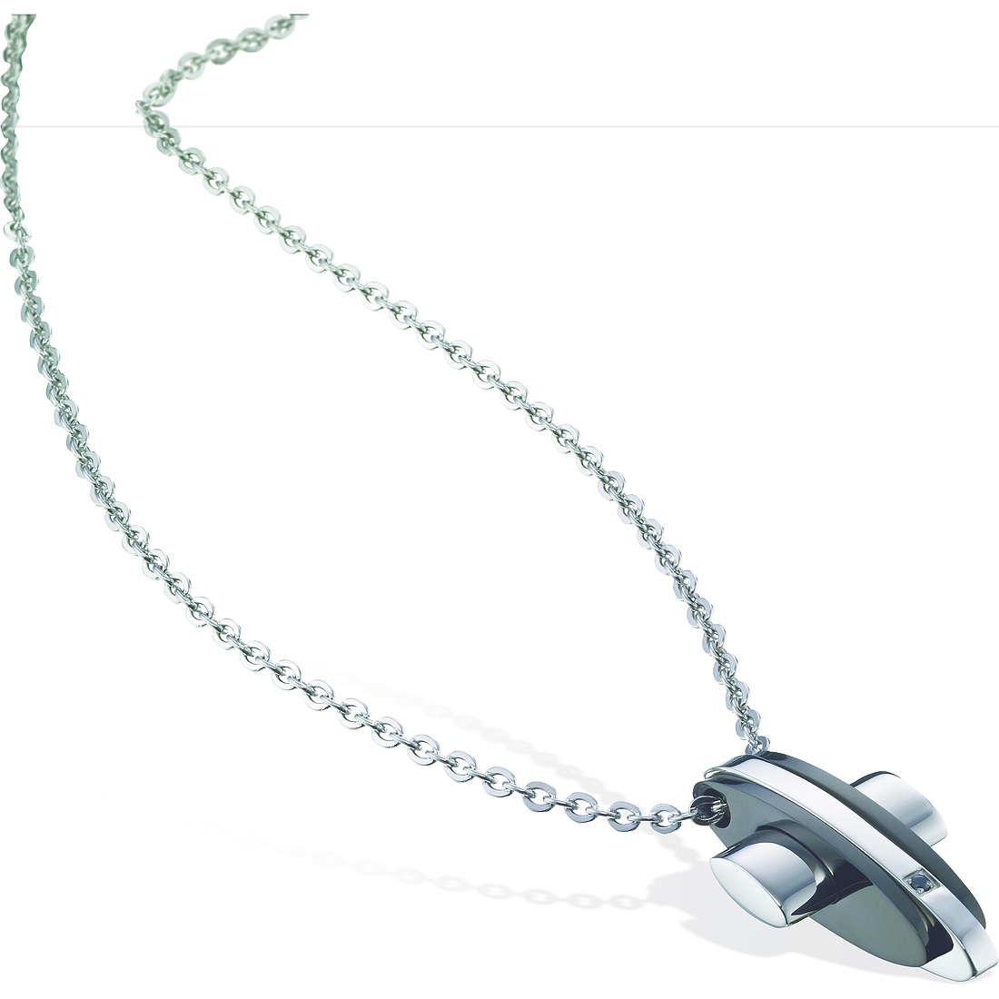 collier unisex bijoux Sector Spirit SLI23
