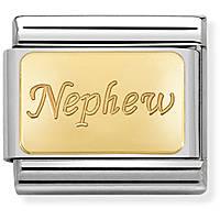 componibile donna gioielli Nom.Composable Engraved 030121/34