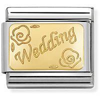 componibile donna gioielli Nom.Composable Engraved 030121/45