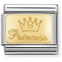 componibile donna gioielli Nom.Composable Engraved 030121/47