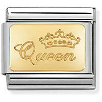 componibile donna gioielli Nom.Composable Engraved 030121/49
