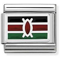 componibile unisex gioielli Nom.Composable Bandiere 330207/31