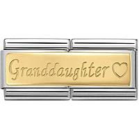 componibile unisex gioielli Nom.Composable Engraved 030710/15