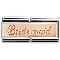 componibile unisex gioielli Nom.Composable Engraved 430710/08