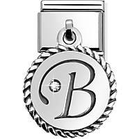 componibile unisex gioielli Nom.Composable Lettere 031715/02