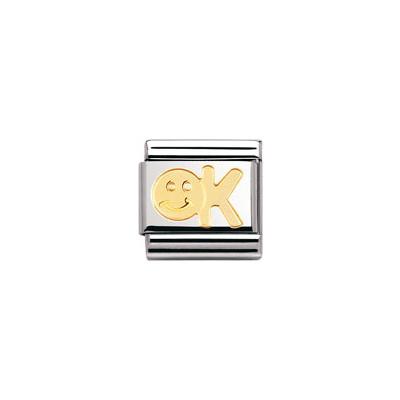 componibile unisex gioielli Nomination Composable 030107/04