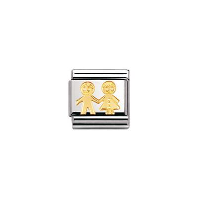 componibile unisex gioielli Nomination Composable 030110/05