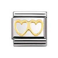 componibile unisex gioielli Nomination Composable 030116/03