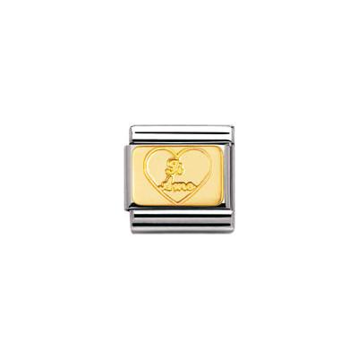componibile unisex gioielli Nomination Composable 030121/02
