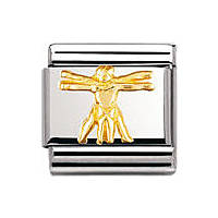 componibile unisex gioielli Nomination Composable 030122/37