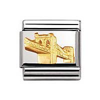 componibile unisex gioielli Nomination Composable 030123/47