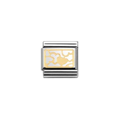 componibile unisex gioielli Nomination Composable 030153/11