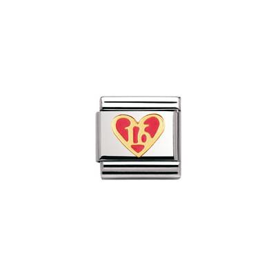 componibile unisex gioielli Nomination Composable 030207/44