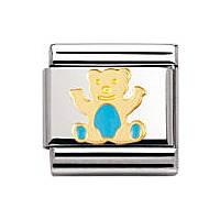 componibile unisex gioielli Nomination Composable 030212/33