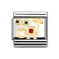 componibile unisex gioielli Nomination Composable 030221/09
