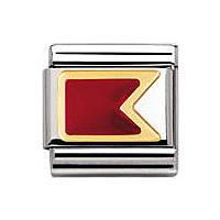 componibile unisex gioielli Nomination Composable 030233/02
