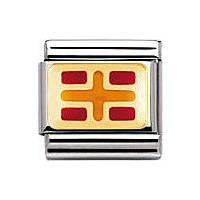 componibile unisex gioielli Nomination Composable 030233/18