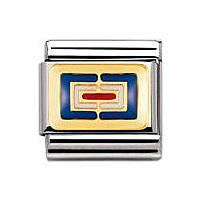 componibile unisex gioielli Nomination Composable 030233/23