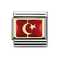 componibile unisex gioielli Nomination Composable 030234/20