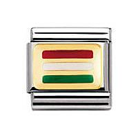 componibile unisex gioielli Nomination Composable 030234/28