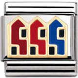 componibile unisex gioielli Nomination Composable 030249/30