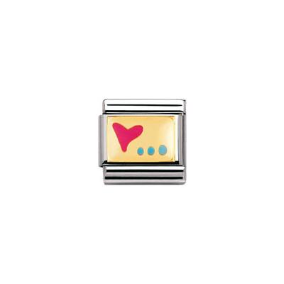 componibile unisex gioielli Nomination Composable 030253/16