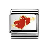 componibile unisex gioielli Nomination Composable 030253/25