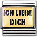 componibile unisex gioielli Nomination Composable 030261/04