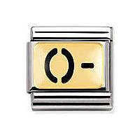 componibile unisex gioielli Nomination Composable 030263/01