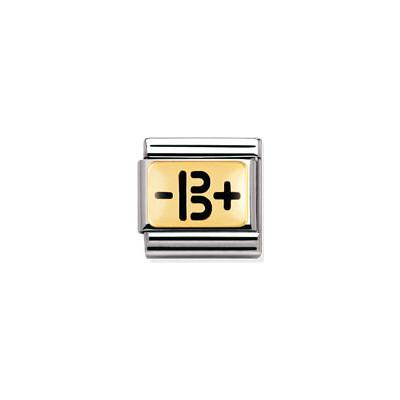 componibile unisex gioielli Nomination Composable 030263/04