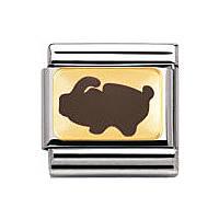componibile unisex gioielli Nomination Composable 030275/32