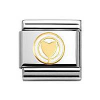 componibile unisex gioielli Nomination Composable 030279/03
