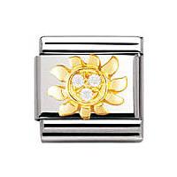 componibile unisex gioielli Nomination Composable 030308/23