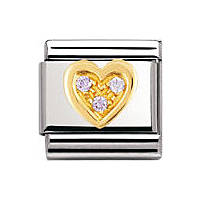 componibile unisex gioielli Nomination Composable 030311/18