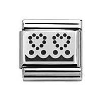 componibile unisex gioielli Nomination Composable 330103/04