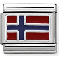 componibile uomo gioielli Nom.Composable Bandiere 330207/09
