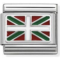 componibile uomo gioielli Nom.Composable Bandiere 330207/21