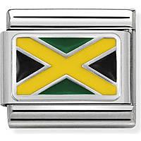 componibile uomo gioielli Nom.Composable Bandiere 330207/28