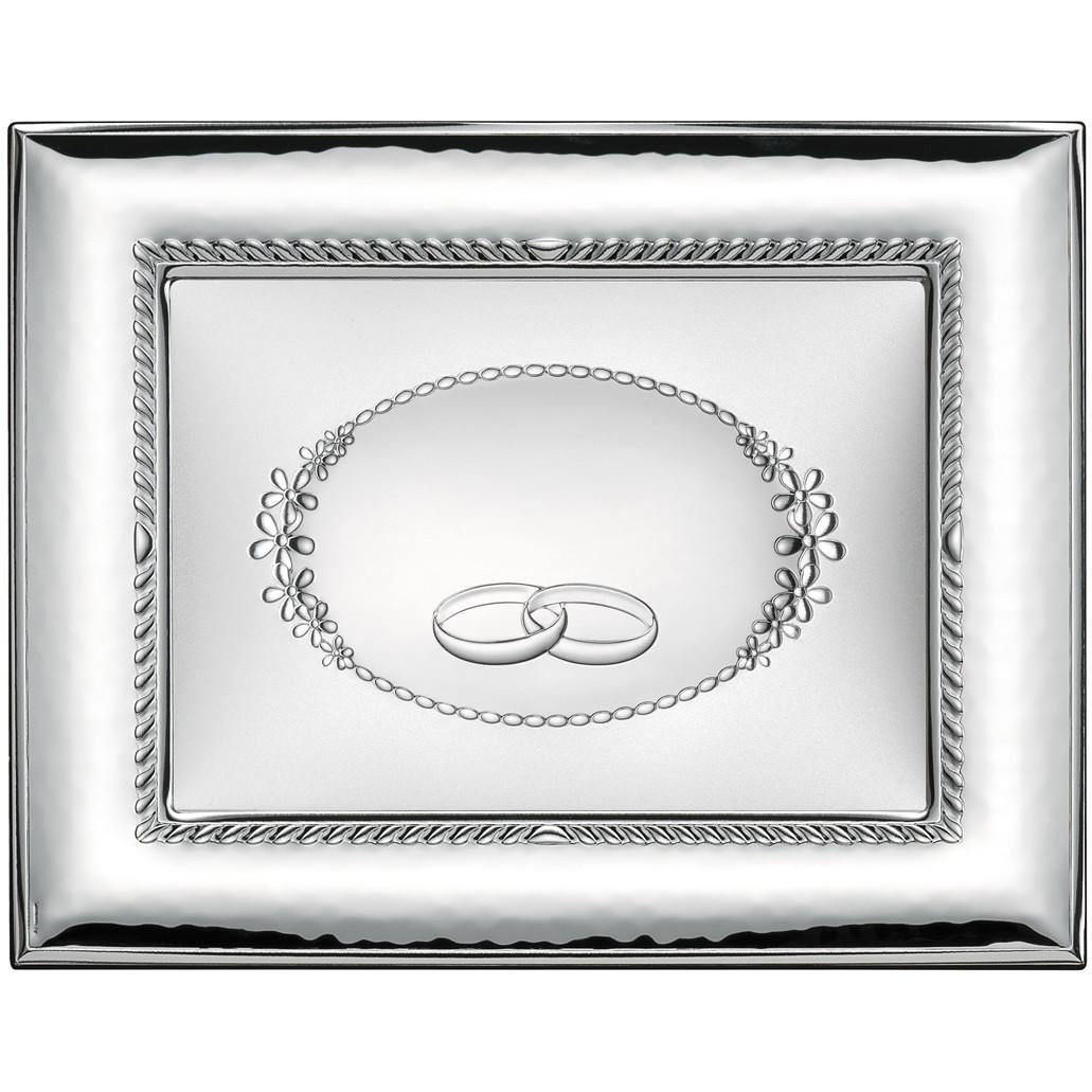 Cornici Valenti, cornice lucida con targa 52010 4L