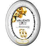 Cornici Valenti, cornice ovale 50° lucida 53005 5L