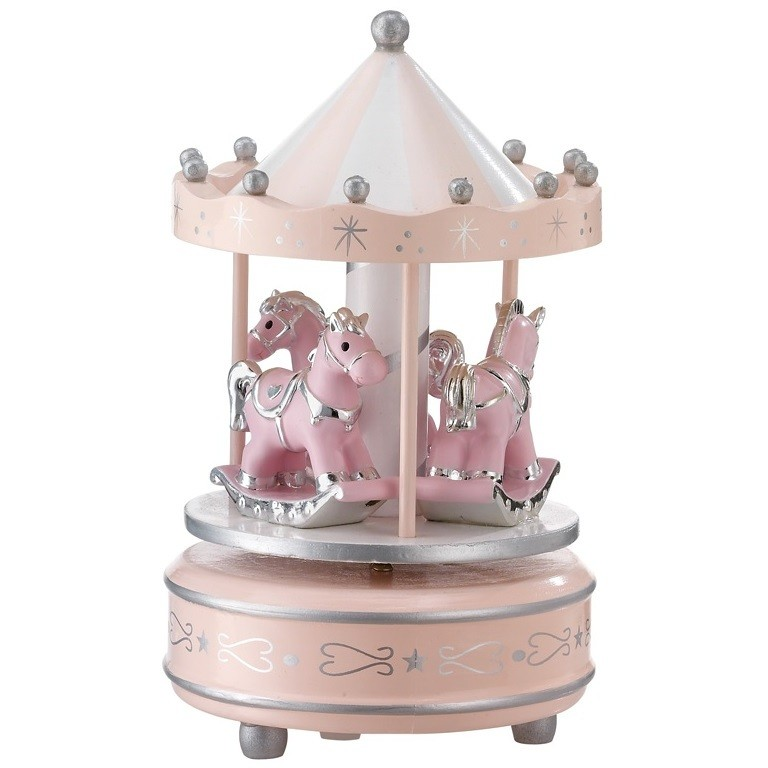 Rosa Supply Valenti Argenti Sopra Culla Con Carillon Col
