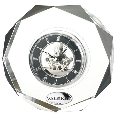 Cornici Valenti, orologio in cristallo, 12611